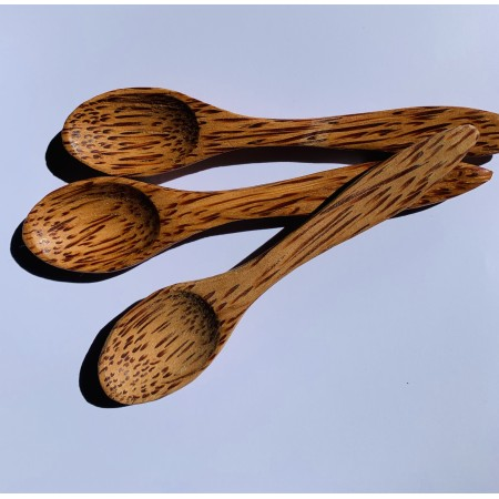 Handcrafted coconut wooden spoon 12 x 2.5cm