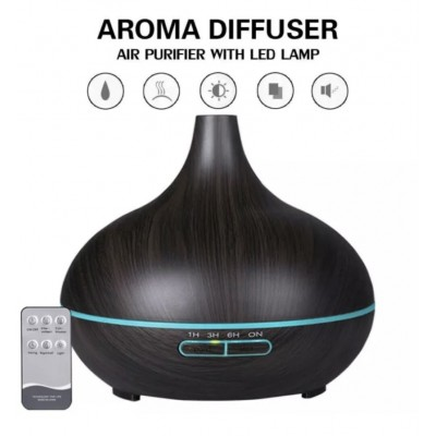 Electric Diffuser - Unbranded Dark Wood Grain 500mL