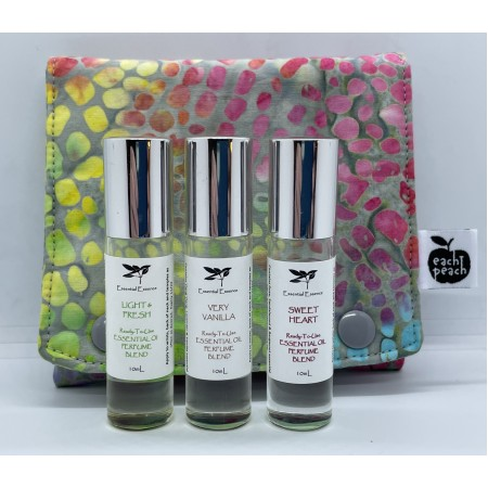 Aromatherapy Roller Gift Bag - Multicolour