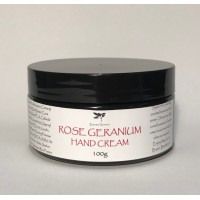Hand & Body Cream Rose Geranium 100g