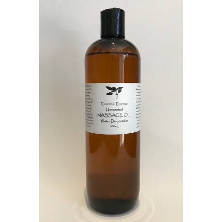 Unscented Massage Oil 500mL