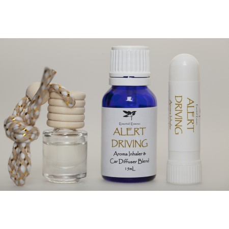 Aroma Inhaler & Diffuser Blend 15mL : Alert Driving