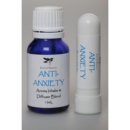 Aroma Inhaler & Diffuser Blend 15mL : Anti-Anxiety