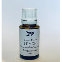 Lemon Pure Steam Distilled 15mL