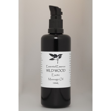 Wild Wood Massage Oil 100mL